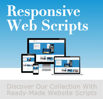 recomennded php scripts for websites