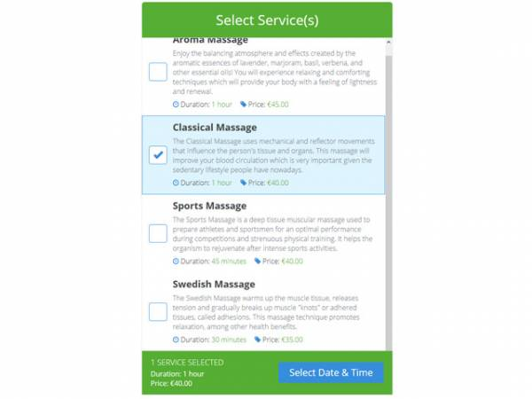 Service Booking Script by PHPJabbers php script