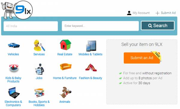 Classified Ads Open Source Script - OLX Clone - OLX Clone