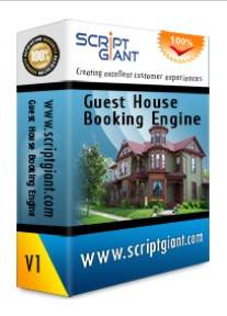Guest House Booking Engine php script