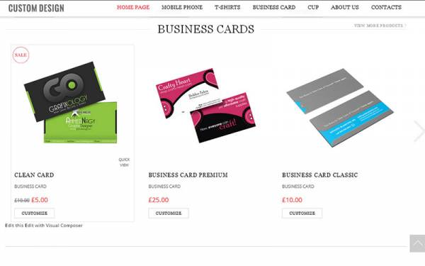 Business card design software custom business card script e business card design software custom business card script php script reheart Image collections