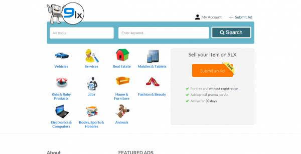 OLX Clone - Online Classified Ad Script By Nine Hertz php script